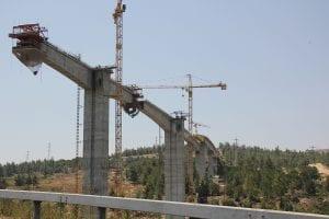 עבודה על גשר בשבת
